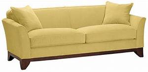 Light yellow sofa light yellow leather sofa www for Yellow leather sofa bed