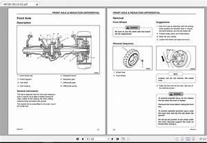 Mitsubishi Forklift Fbc18ln Service Manual