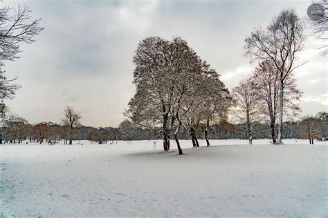 Englischer Garten In Winter by Der Englische Garten Im Winter Der Blauen Stunde