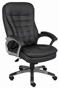 Boss, Office, U0026, Home, Black, High-back, Executive, Chair, -, Walmart, Com