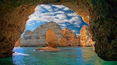 Portugal Lagos Bing Ponta Piedade Algarve Desktop