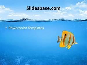 Underwater Ocean Powerpoint Template