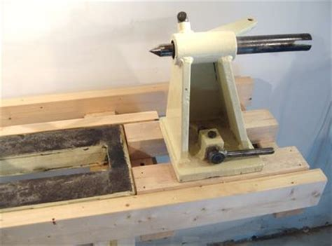 building  lathe stand