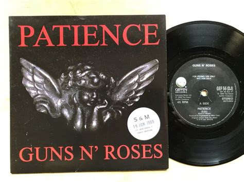 Guns N' Roses Patience Records, Lps, Vinyl And Cds