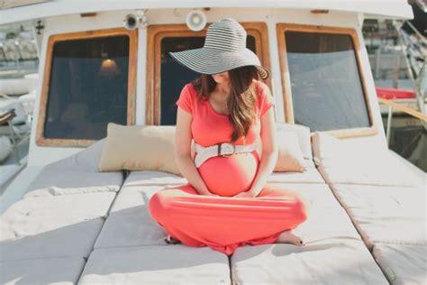 Nautical Maternity Session