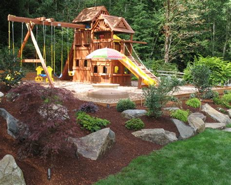 Home Playground : Playground Landscaping Home Design Ideas, Pictures