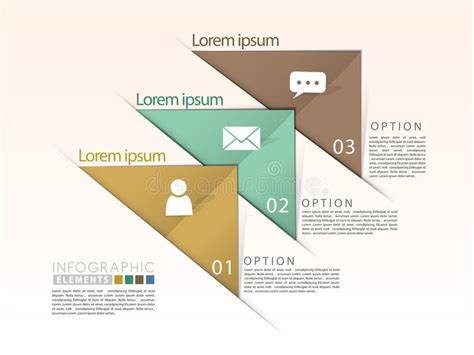 Infographics Astratto Della Barra Della Freccia 3d