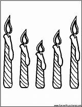 Candle Coloring Birthday Candles Pages Drawing Printable Cake Sheet Print Christmas Fun Printables Getcoloringpages Getdrawings Getcolorings sketch template