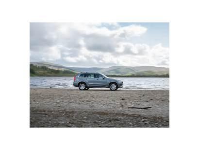Volvo Xc90 Momentum Osmium Spec Grey Side