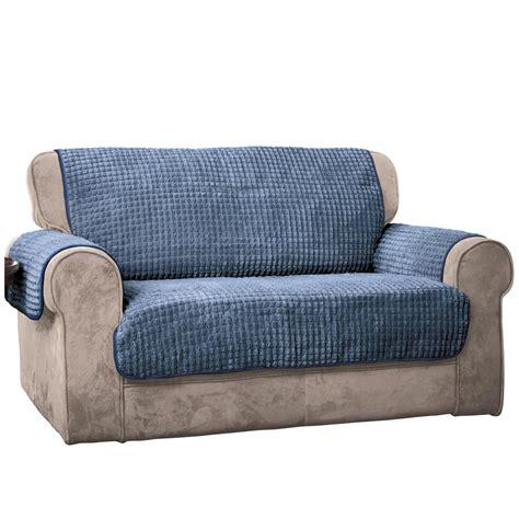 blue puff sofa furniture protector sofablue  home