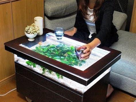 awesome diy fish tank coffee table youtube