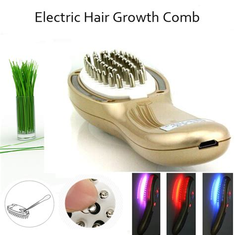 light therapy hair growth comb best hair loss treatment electric hair scalp follicle
