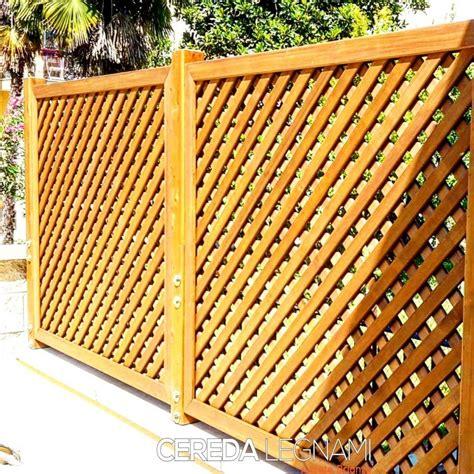 griglie in legno per interni griglie in legno per giardino cereda legnami agrate brianza
