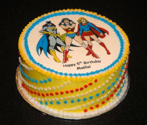 super hero birthday cake  batgirl  woman