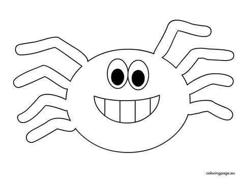 spider coloring pages spider coloring pictures for
