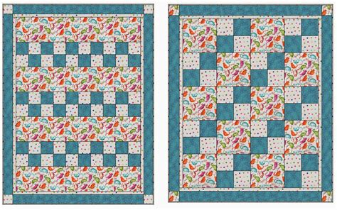 3 fabric quilt patterns 3 yard kits express yourself