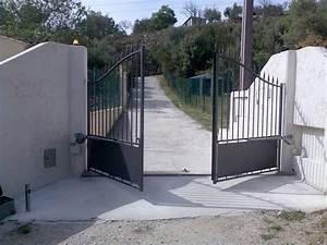 motorisation de portail automatique var entre toulon et With portail automatique ouverture exterieure