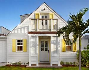 Tropical beach cottage exterior beach style with sliding