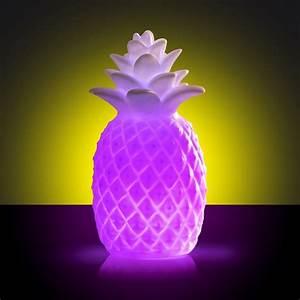 Deco Multicolore : lampe ananas multicolore ~ Nature-et-papiers.com Idées de Décoration