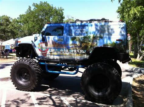 monster hummer find used 2003 hummer h2 lifted monster truck no reserve