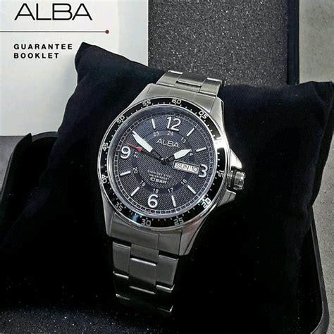 Jam Tangan Alba Pria Af3e99x1 jual jam tangan pria alba vj43 x011 original di lapak