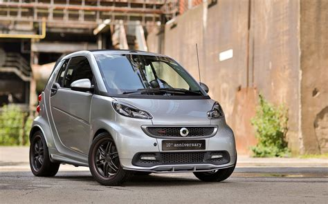 smart 451 brabus ten times fortwo special edition smart celebrates brabus fortwo history