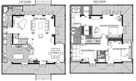 Two Apartments In Modern Minimalist Japanese Style (Includes Floor Plans) : House Plans Modern Style Minimalist Japanese Home