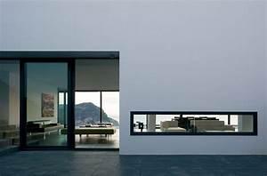 fenetre bandeau maison contemporaine maisons With maison de la fenetre 0 maison contemporaine dompierre sur mer