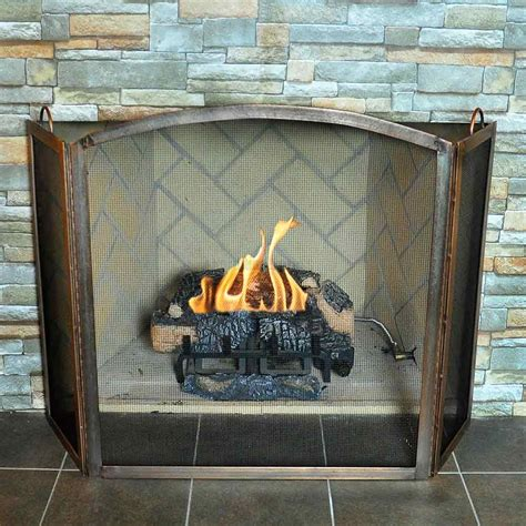 Fireplace Screen Cover