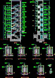 Steel Staircase DWG Block for AutoCAD • Designs CAD