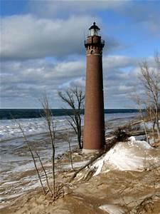 Light Chart Little Point Lighthouse Michigan At