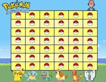 pokemon reward chart  background ash theme