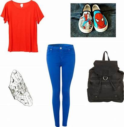 Outfits Spiderman Outfit Inspired Polyvore