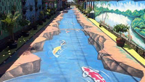 kampung mural  gang husada destinasi hits tangerang
