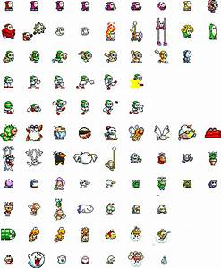 Super Mario World 2: Yoshi's Island Sprites