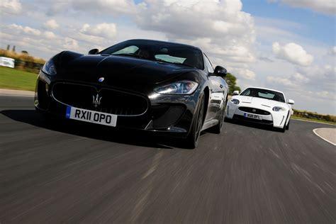 Vs Maserati by Maserati Granturismo Vs Jaguar Xkr S Car Tests