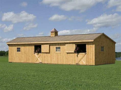 horse barns amish modular building sales ohio