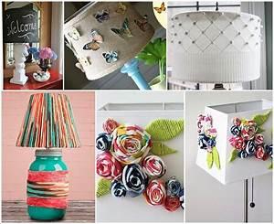 13 Creative Lampshade Makeover Ideas, Creative Lamp Shade