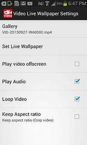 How to Set Any Video as Live Wallpaper in Android