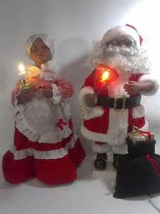 telco mr mrs black santa claus animated motionette african amercian ultra rare awesome stuff