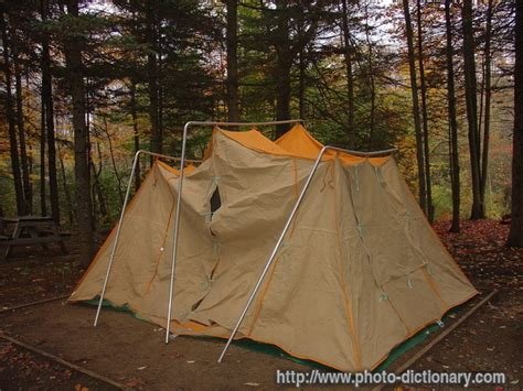 tent photopicture definition  photo dictionary tent word  phrase defined   image