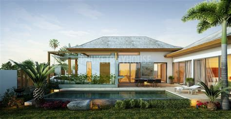 swimming pool house plans kam3536 2 3 bedrooms contemporary pool villa with