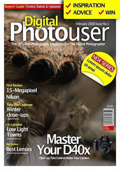 Magazine Designing Photoshop Examples Colorlava Hey