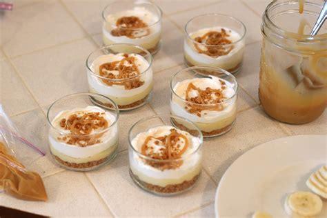 banana dessert glorious treats banana caramel cream dessert