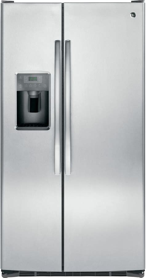 ge  cu ft stainless steel side  side refrigerator gssgshss friedmans appliance