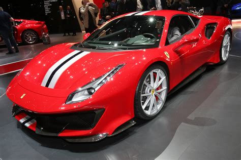 New Ferraris by New 488 Pista Lands As The Brand S Most Powerful