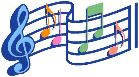 Free Musical Note Clip Art Music Notes Clipart Famous And
