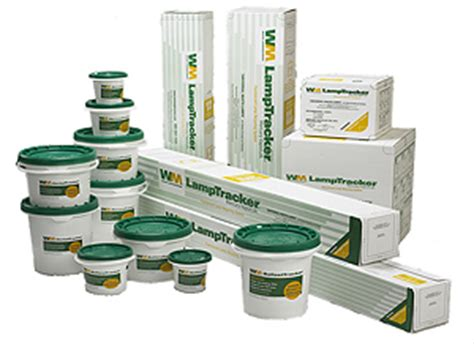 waste management business fluorescent bulbs and