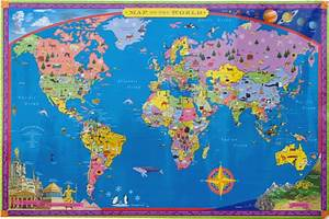 Map Of The World For Kids | www.imgkid.com - The Image Kid ...