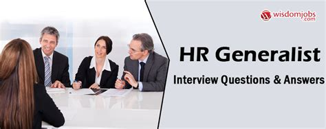 Questions For Hr Generalist by Top 250 Hr Generalist Questions And Answers 24